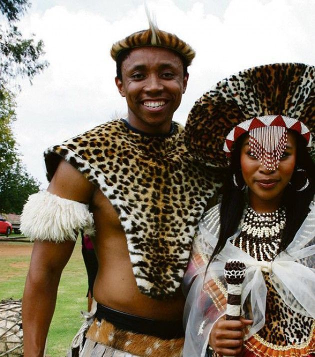 Zulu wedding dress