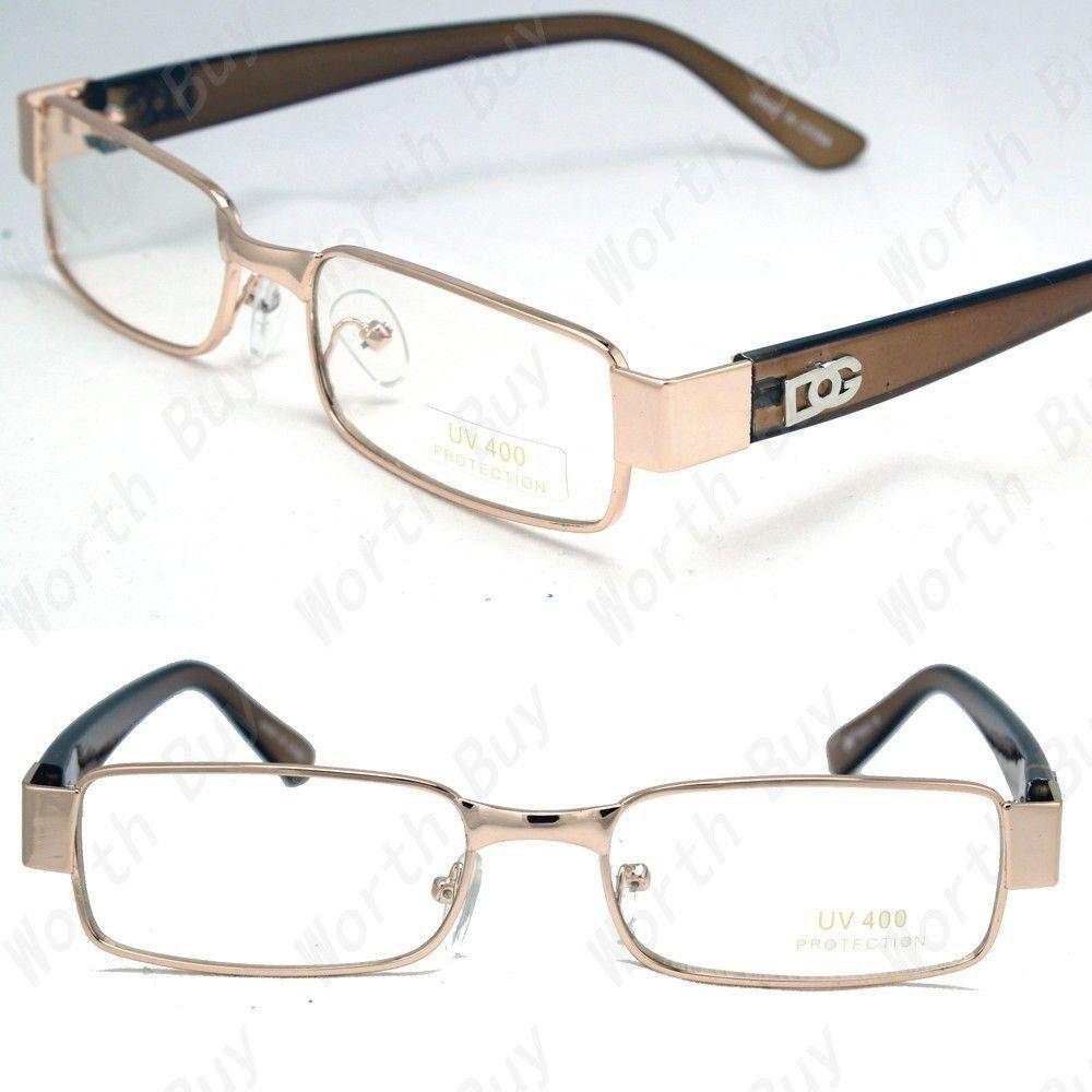 34ce3b0847d New Mens Womens DG Clear Lens Frame EyeGlasses Rectangular Designer Fashion  Nerd  fashion  clothing  shoes  accessories  unisexclothingshoesaccs ...