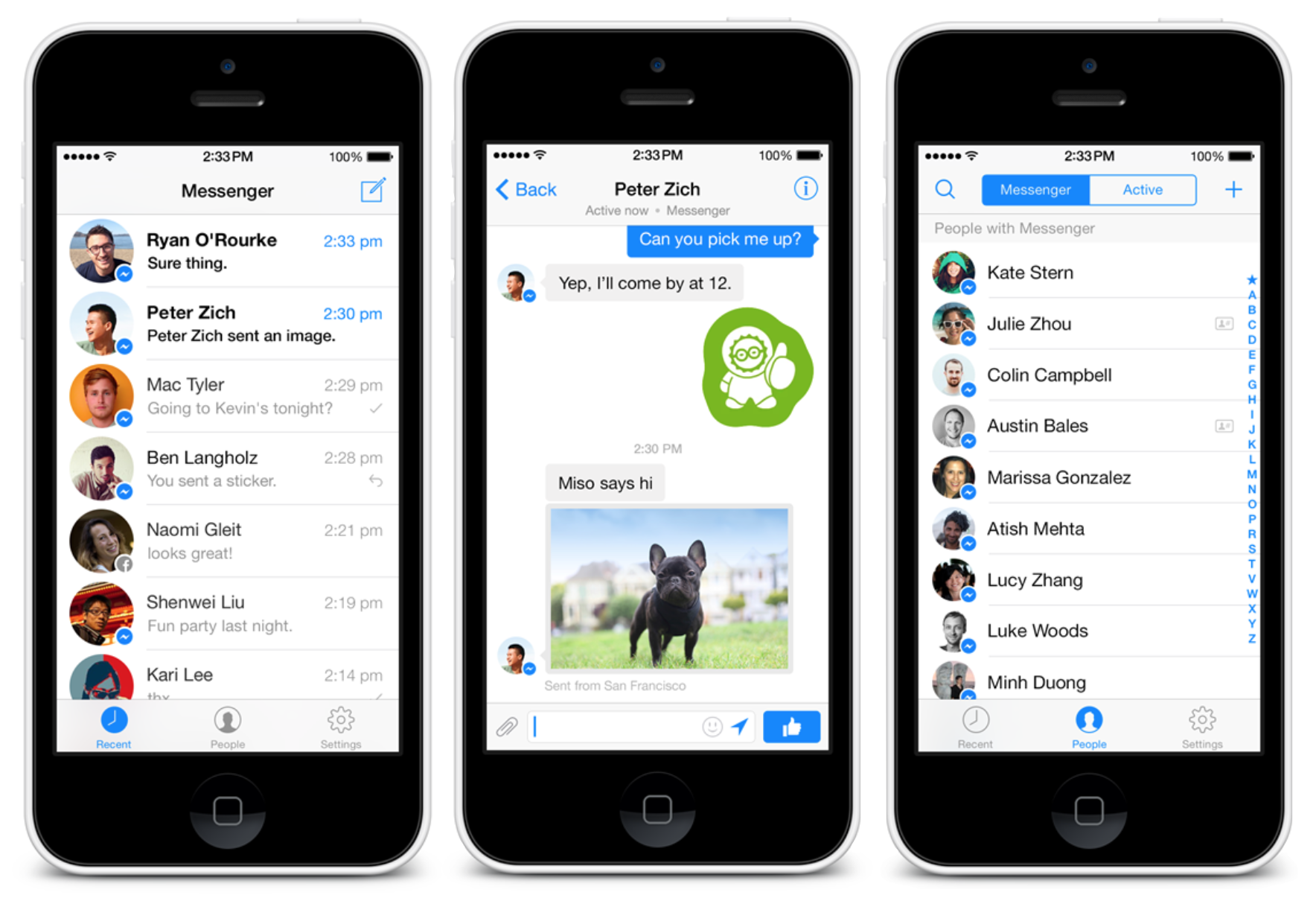 Facebook Messenger Download IPA for iOS iPhone iPad