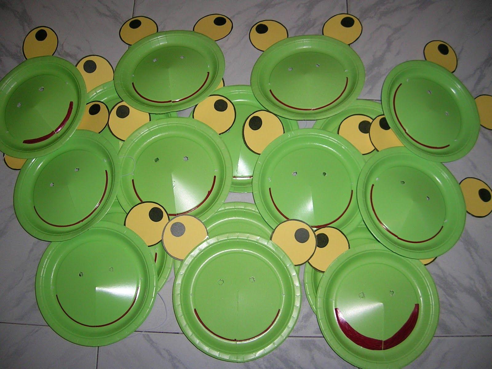 platos decorados para cumpleaos de sapo pepe