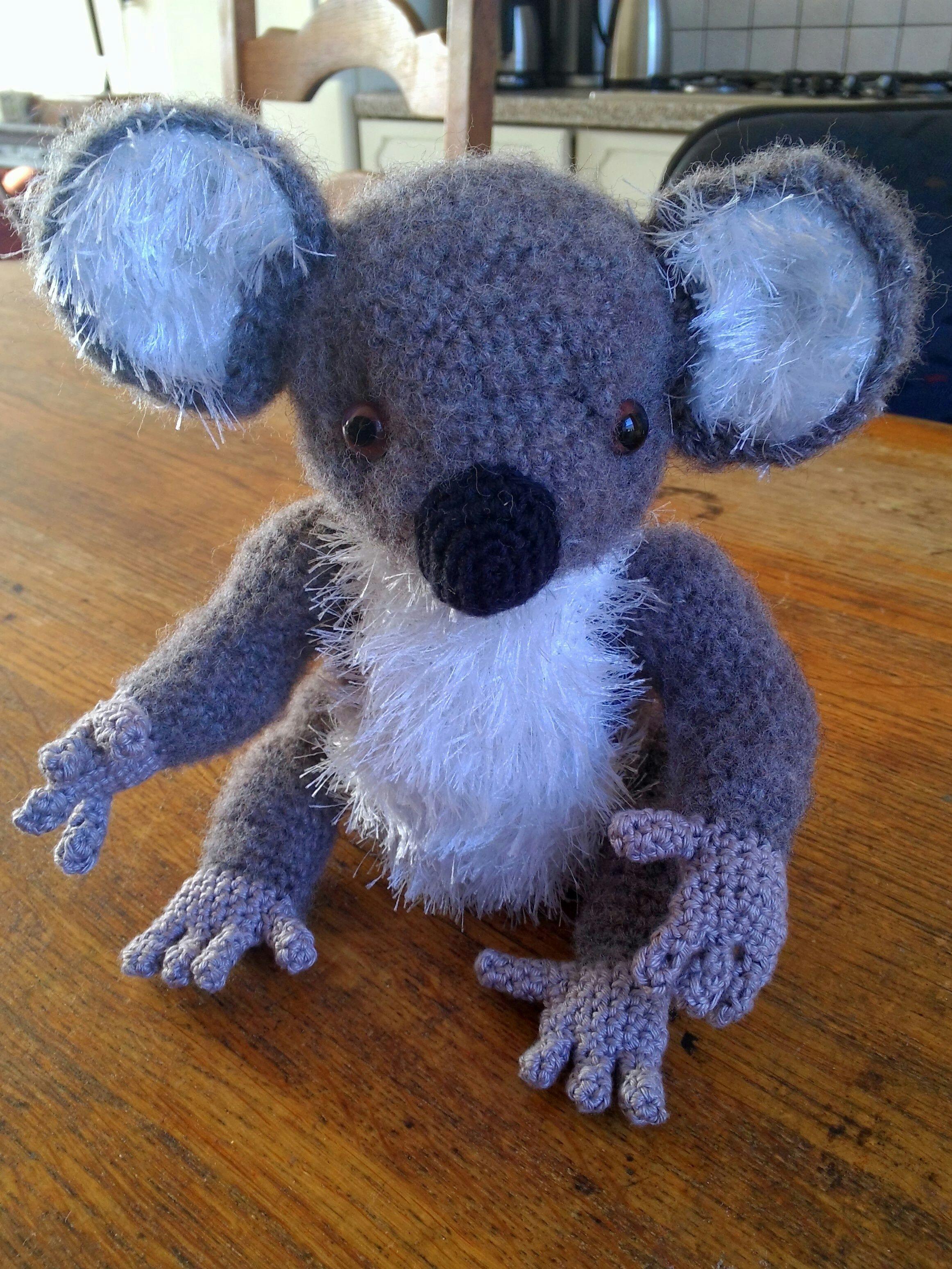 Haken Koala Basispatroon De Aap Uit Zoomigurumi Crochet