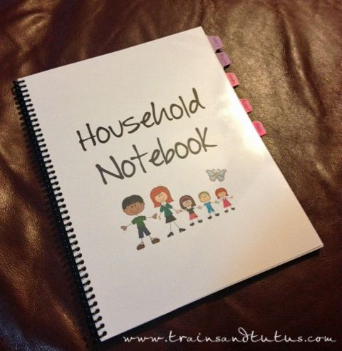 My Household Notebook: 2013 Version  