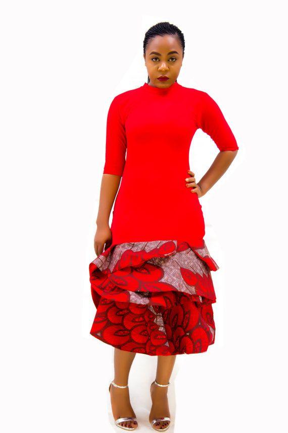 The Hymenaeus Dress African Clothing African Dress Black