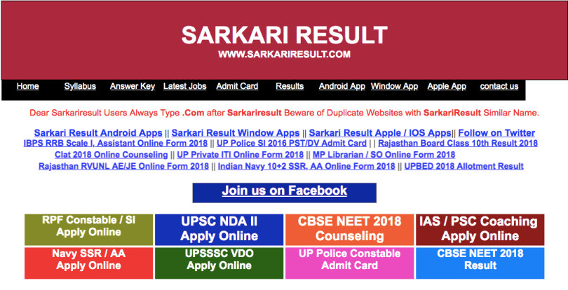 Pin by fully info on Result | Sarkari result, How to apply