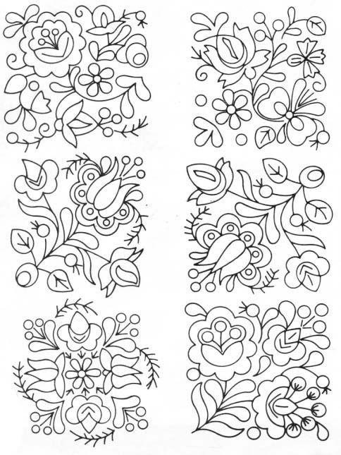 Pin de Amparo Londoño Daza en Dibujos | Bordado, Bordado húngaro y ...