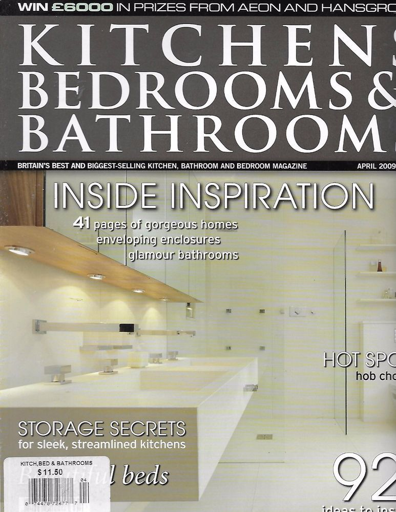 Pics Of Kitchens Bedrooms and Bathrooms magazine Inside homes Storage secrets Beds