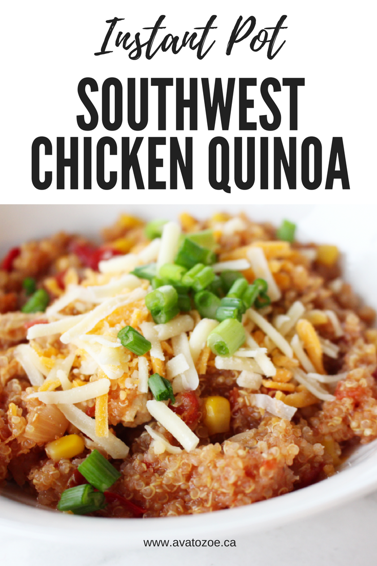 Photo of In A Rush? Quick & Easy Southwest Chicken & Quinoa Dinner