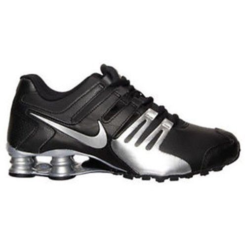 647235d70ad552 Nike Men s Shox Current Running Shoes 633631 015 Black Silver Size 8.5   NikeAir  RunningCrossTrainingSneakers