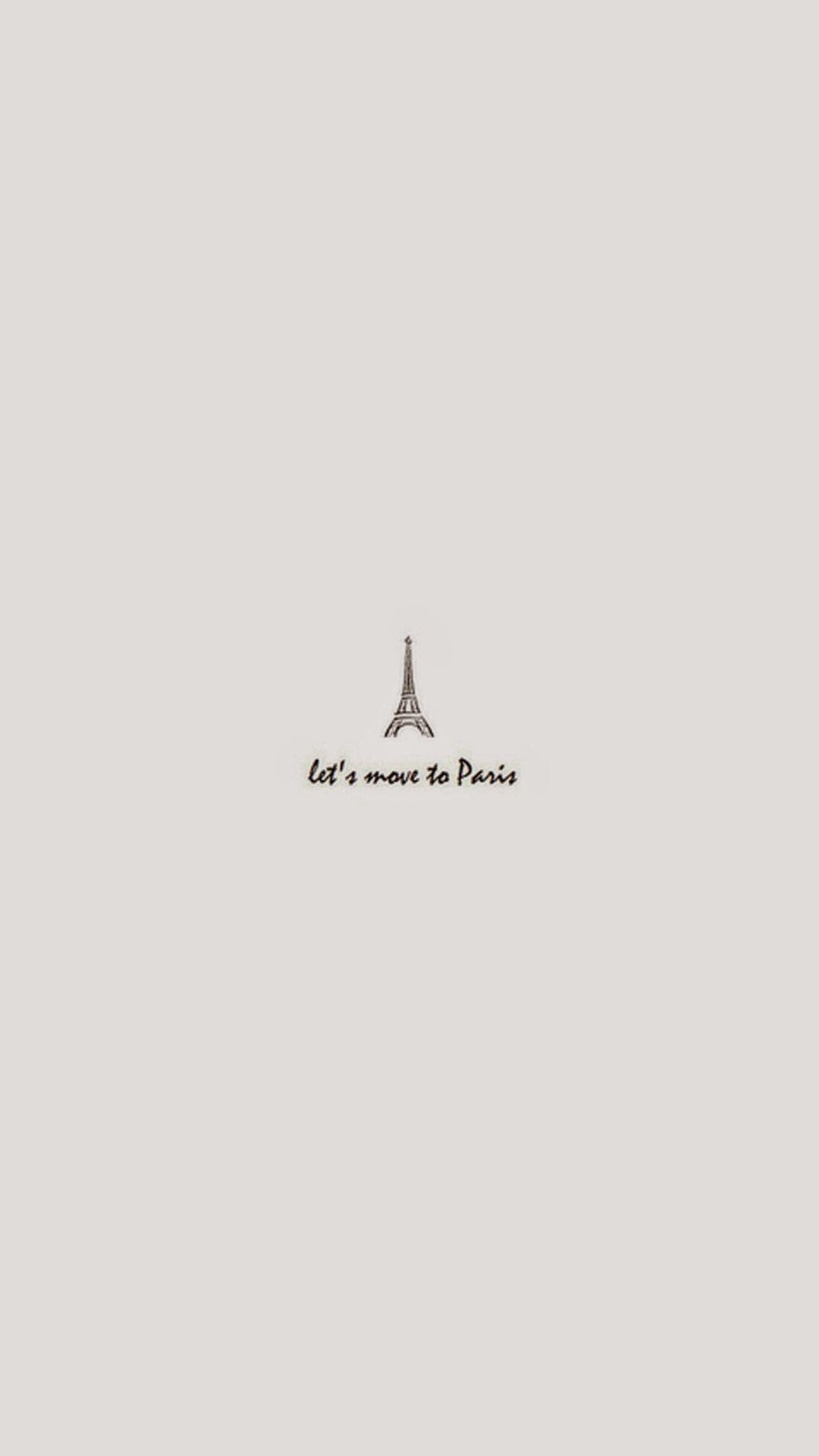 Move To Paris Minimal Art Iphone 7 Wallpaper Paris Wallpaper Paris Wallpaper Iphone Moving To Paris