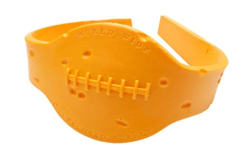 The Cheese Head Title Belt Cheesehead Green Bay Packers Foam