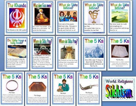 KS2 RE Teaching Resource - Sikhism printable classroom display ...