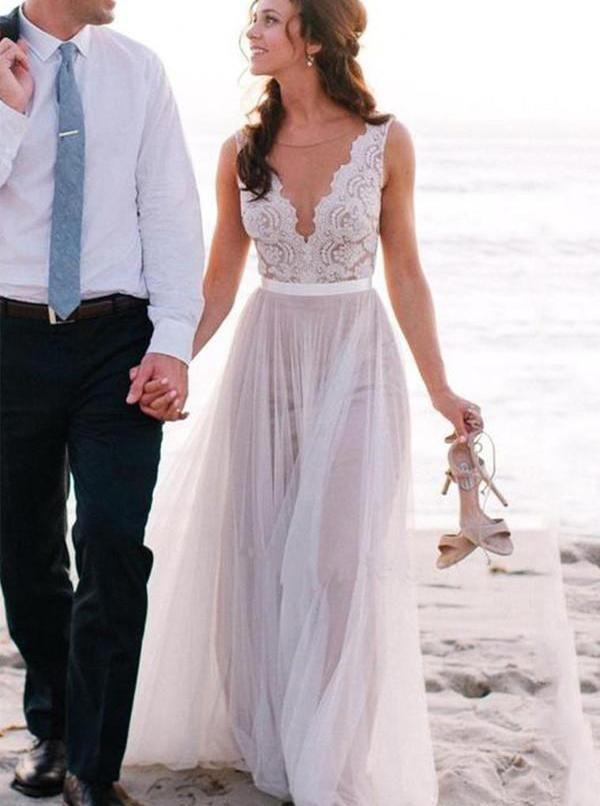 Feature Boho Wedding Dresses Modest Beach Wedding Dresses Summer