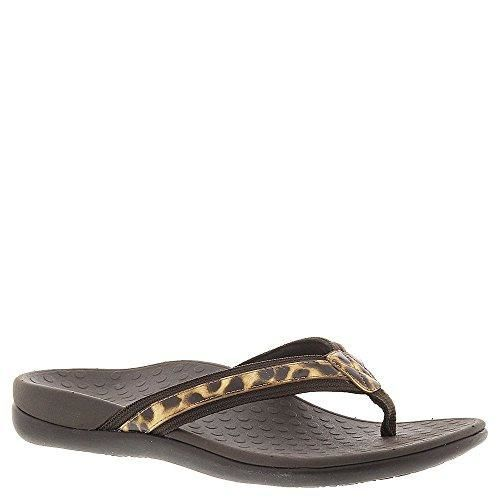 d3b9a059052d5 Vionic Tide II Women Leather Orthaheel Sandals