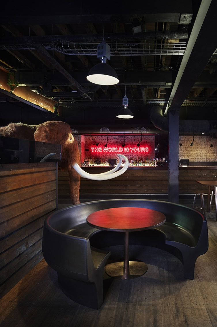 The woolly mammoth alehouse in brisbane doesn t do
