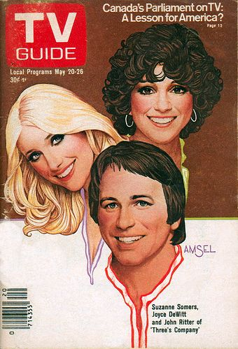 His TV Guide Cover #12: Three's Company, May 20, 1978