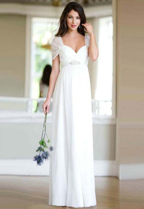 Permalink to Simple Long Dresses For Weddings
