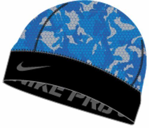 3ac3a7bb860d2 Nike Pro Combat Youth Battleground Skull Cap (Royal Blue
