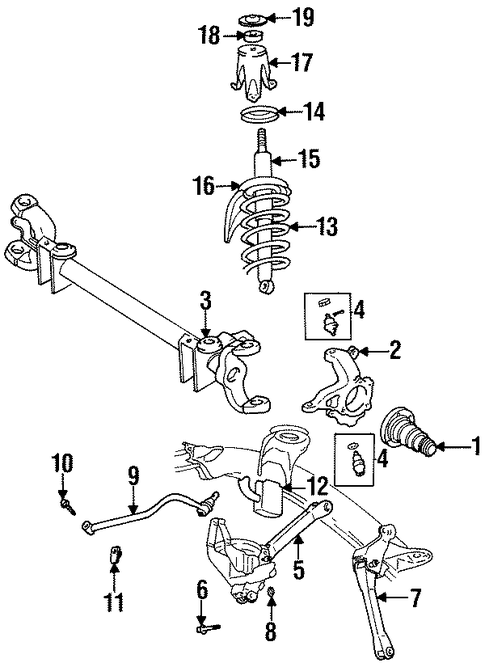 dodge ram 1500 fuel system diagram front suspension suspension components for 2000 dodge ram 1500 5  front suspension suspension components