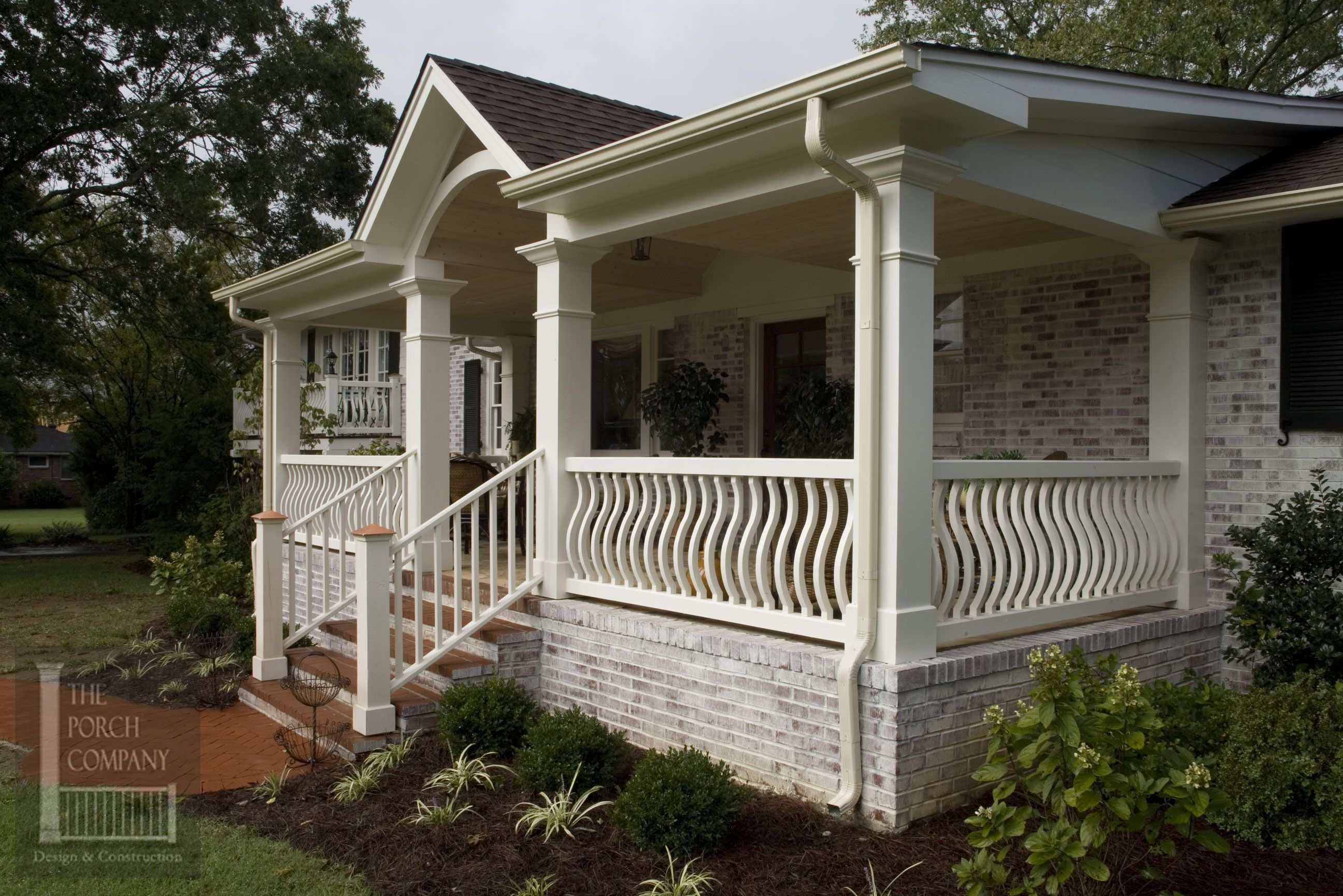 for kits hung together garden wooden walls at systems railing along also rousing cabin aluminum outdoor deck trendy home porch state rails panel window exterior dashing with rustic decor ideas log