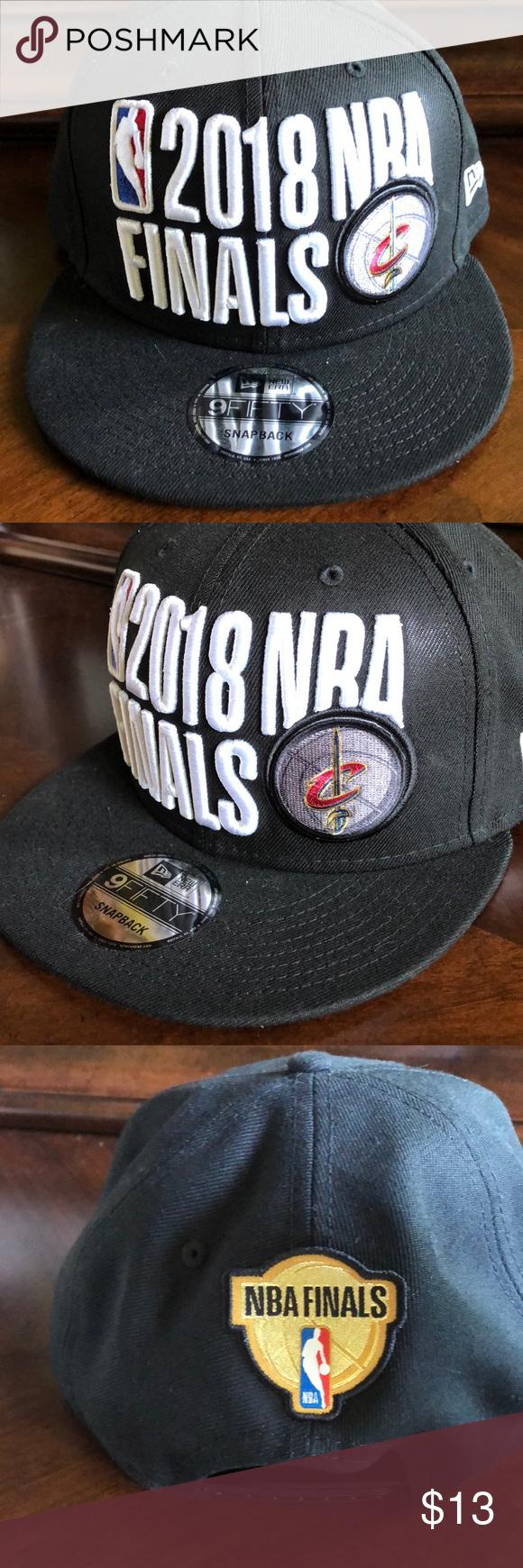 657a6ddcfd316e NBA Finals Hat Cleveland Cavaliers NBA finals hat. Never worn New Era  Accessories Hats