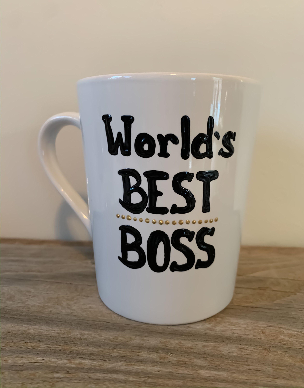 Worlds Best Boss Coffee Mug Boss coffee, Worlds best