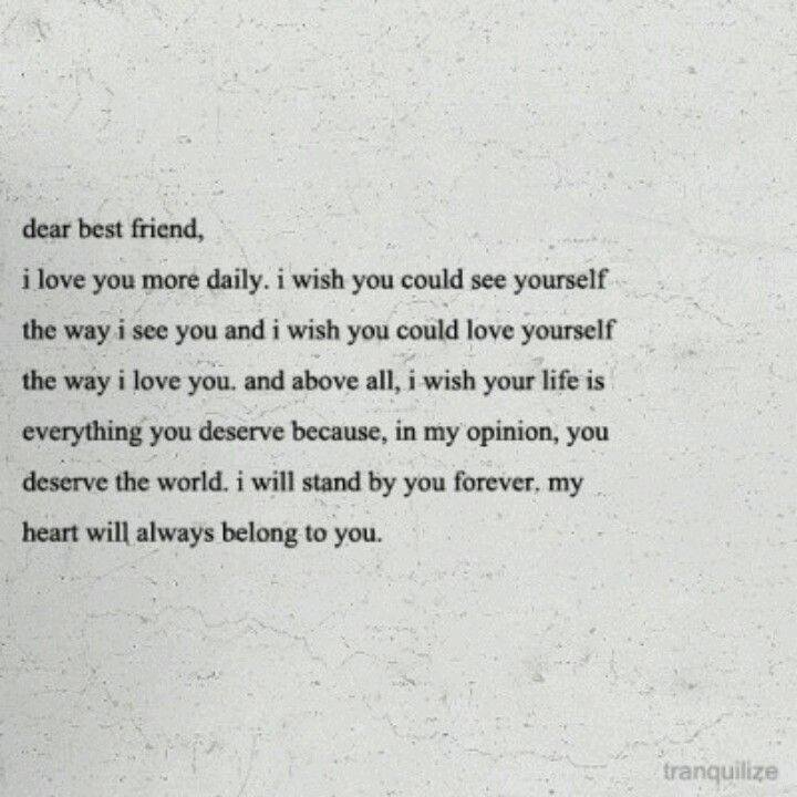 i love you best friend letter mersn proforum co