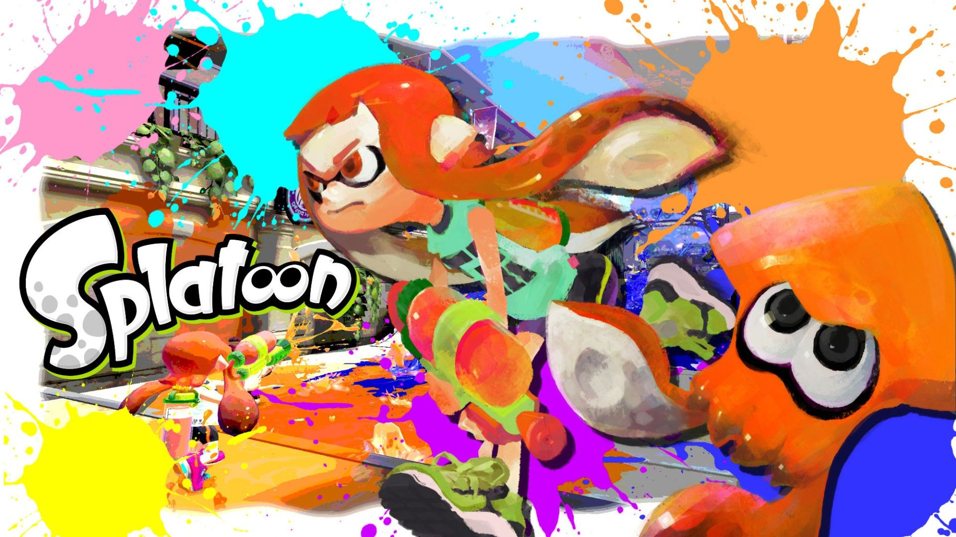 splatoon wallpaper by xxzicexx - photo #4