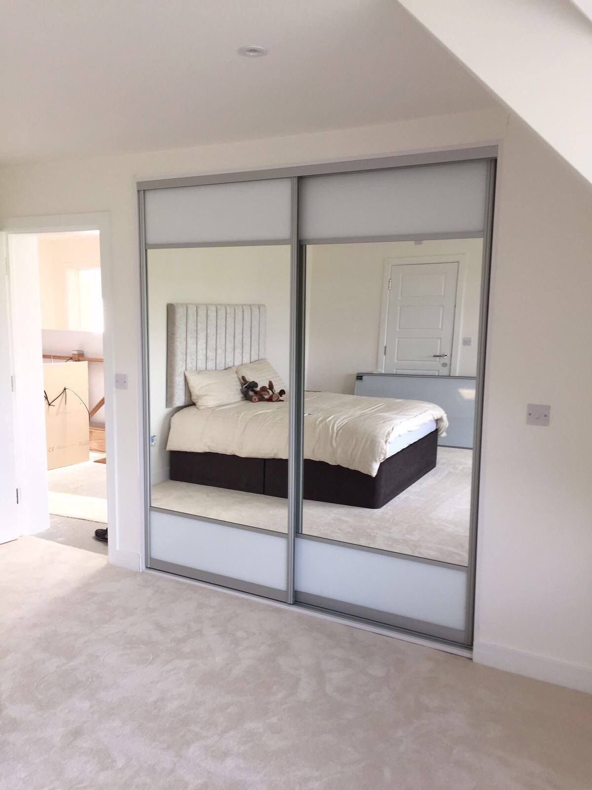 A Very Popular Sliding Wardrobe With Storage Built Inside To Suit Your  Needs.