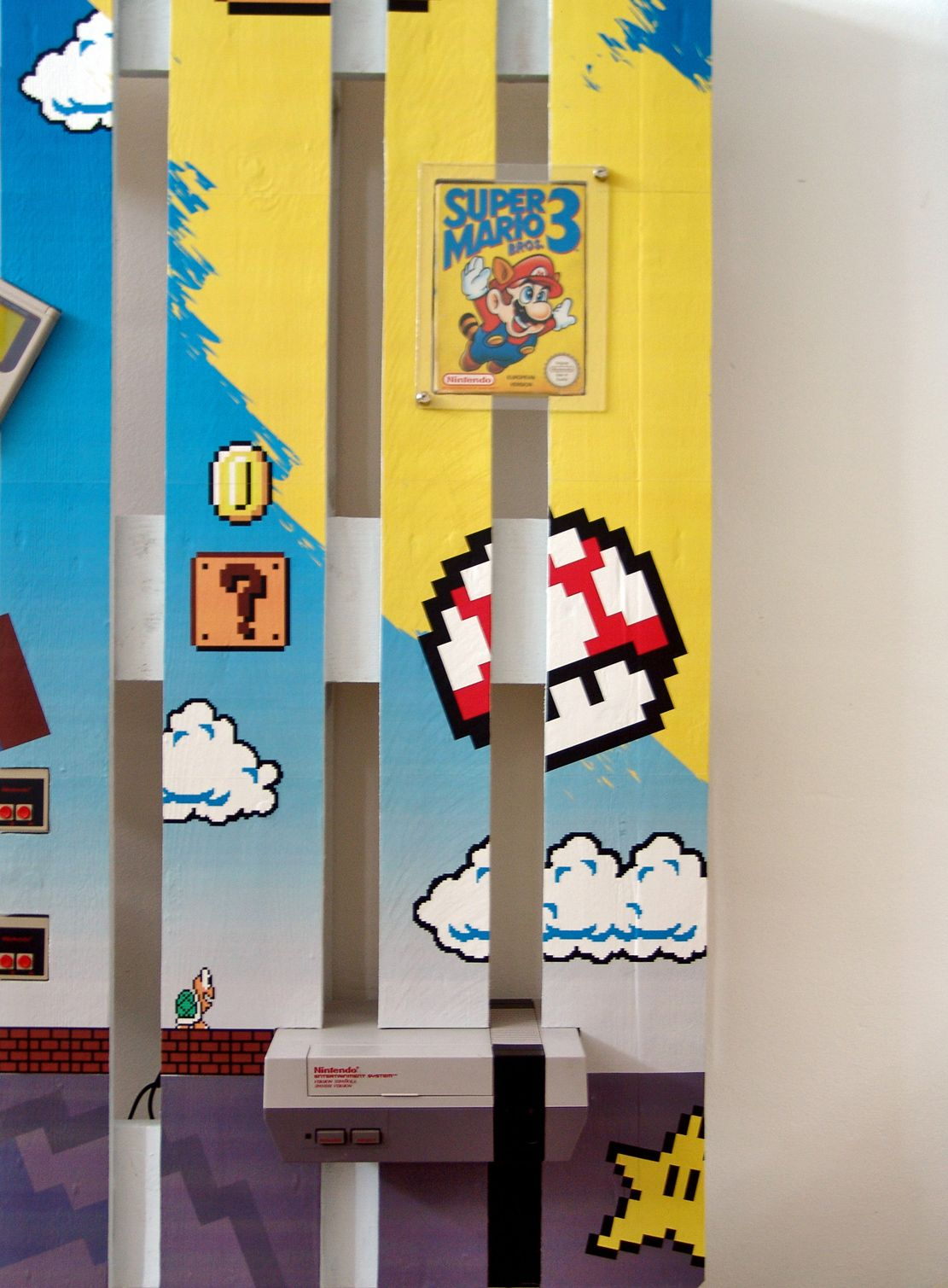 Boxed Super Mario 3 attached and conserved on a pallet #konemei ...