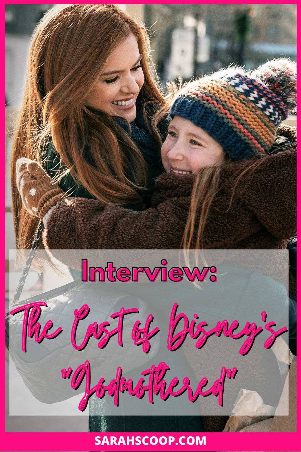 Interview The Cast Of Disney S Godmothered Disney Plus Disney Images Little Girl Names