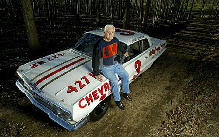 Junior Johnson S Very Fast 63 Impala Nascar Race Cars Nascar Cars Old Race Cars