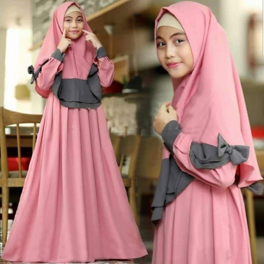 Model Baju Muslim Anak Perempuan Umur 11 Tahun  Baju muslim, Anak
