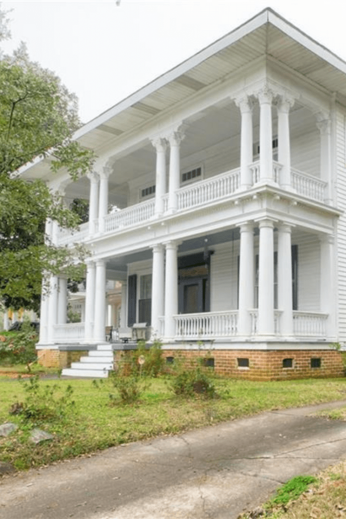 1907 Historic Home For Sale In Mobile Alabama #historichomes