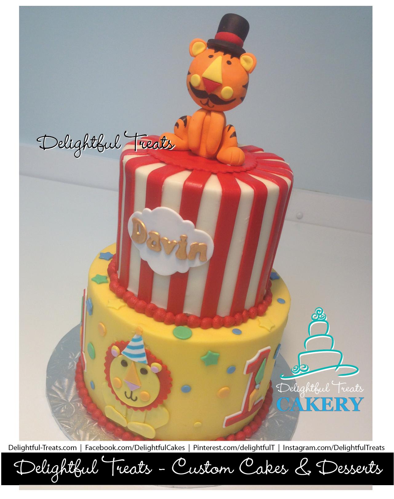 Fisher Price Circus Birthday Cake Love the lion Circus