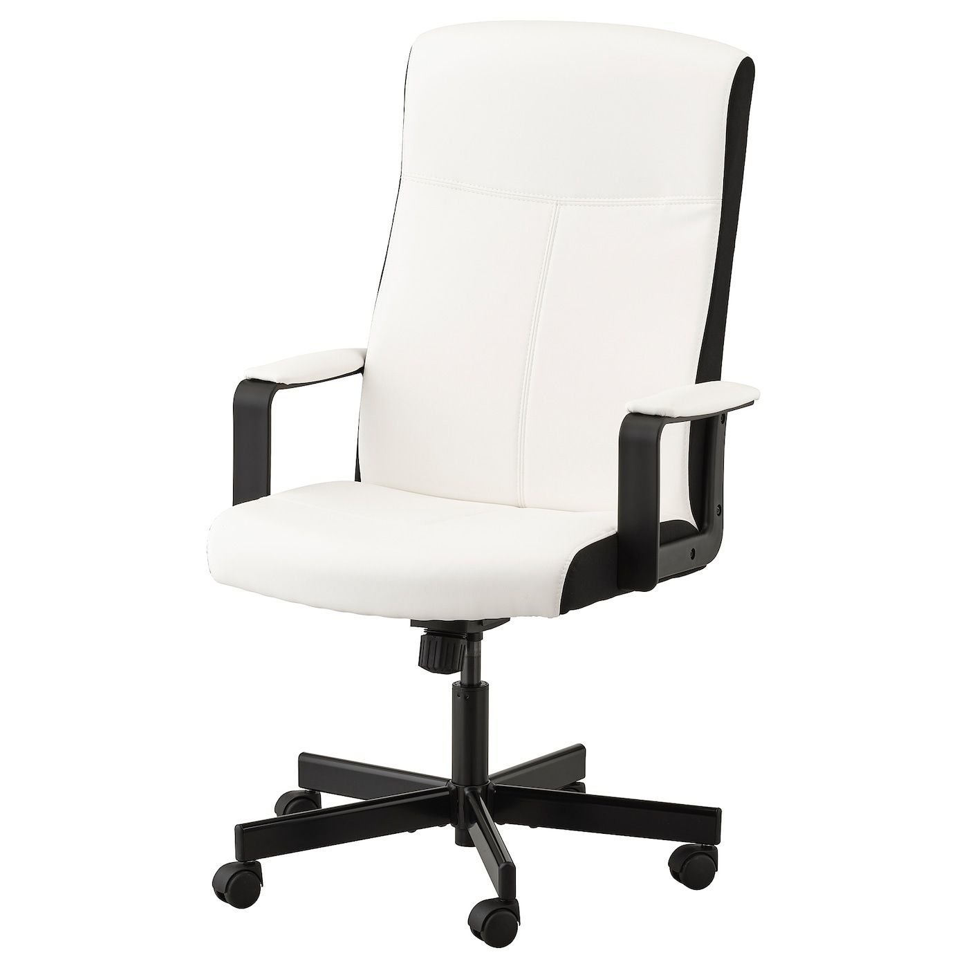 Furnitures Ikea Office Chairs Swivel Chair Base Wheel Caster Control Mechanism Cylinder Black Fab Office Chair Design Comfortable Office Chair Ikea Desk Chair