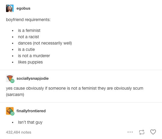 When this boyfriend ad was legendary. | 19 Real AF Tumblr Posts That Will Make All Feminists Laugh