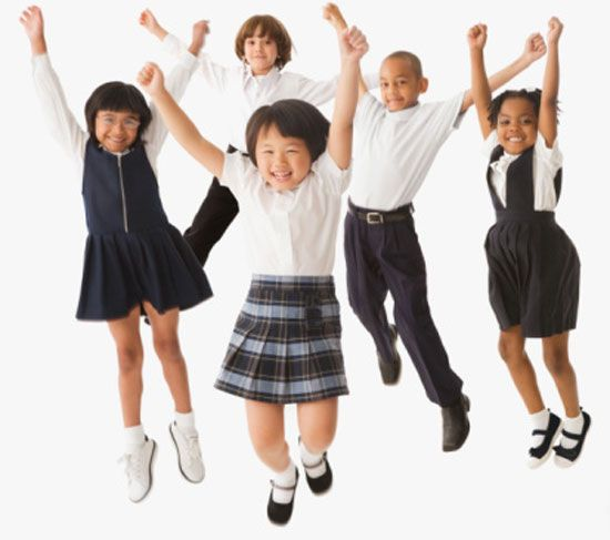 An analysis of the students in public schools and the uniform wear