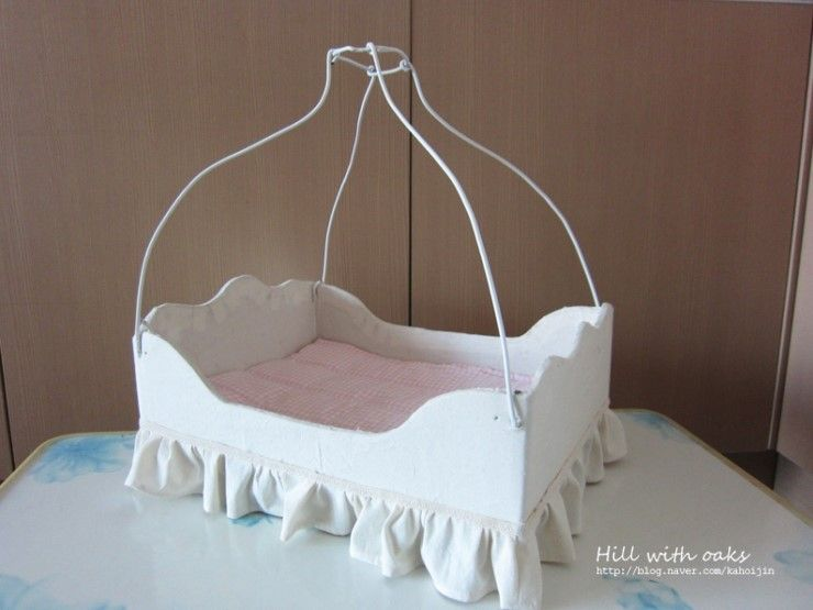 엄마표 인형침대 만들기2013 12 4 수요일 큰아이 6살 작은아이 5살 때 만든것 블로그를 얼마만에 하 인형 침대 침구 침대