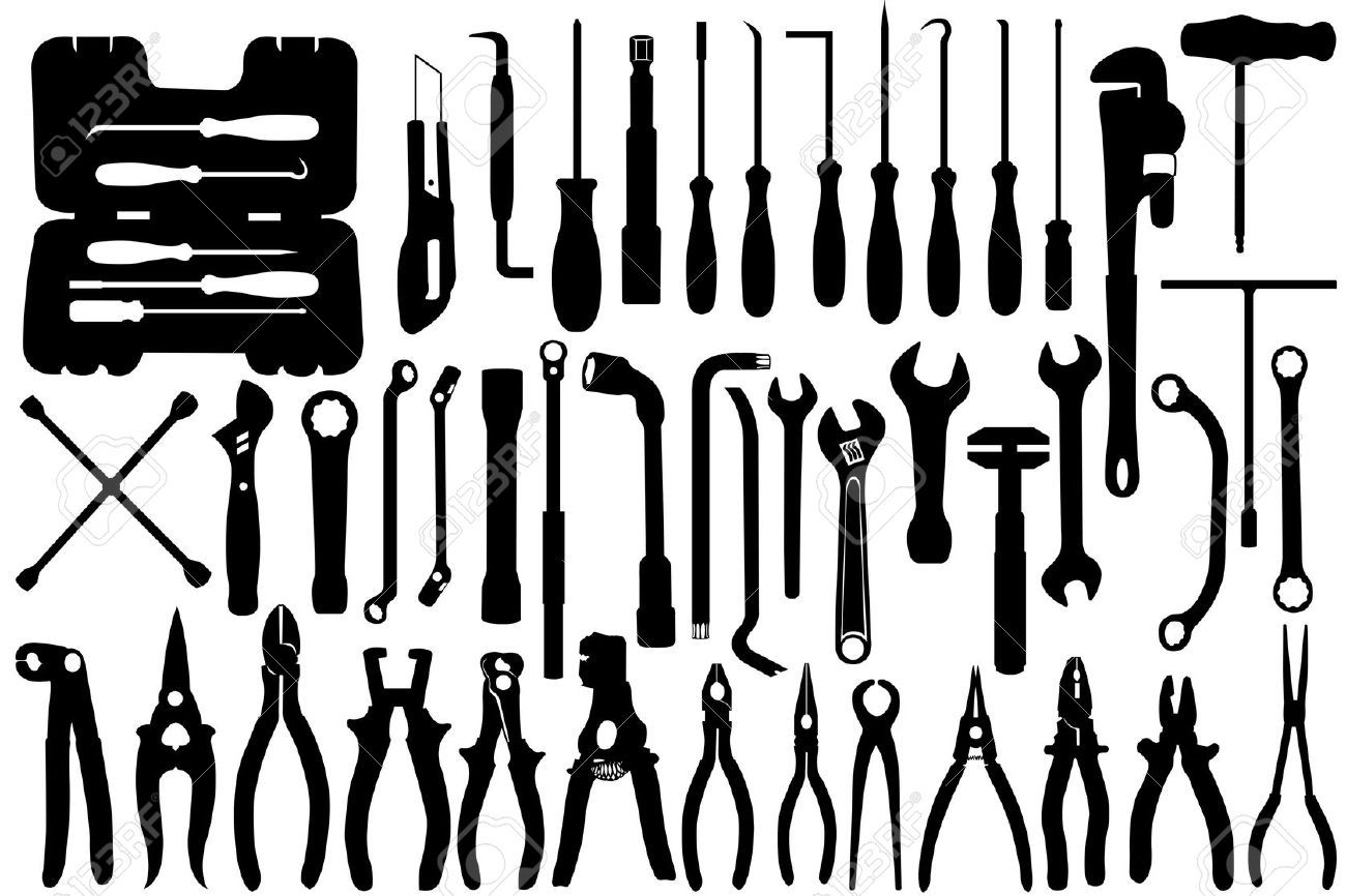 Crescent Wrench Vector