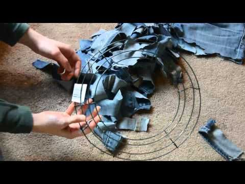 Photo of How to Make a Rag Wreath