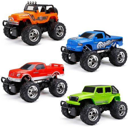 New Bright 1:16 Radio Control Full Function Truck, Assorted