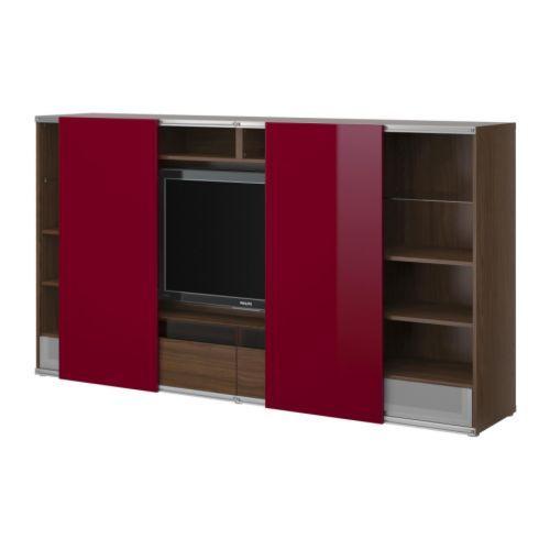BESTÅ/INREDA TV Storage Combo With Sliding Doors