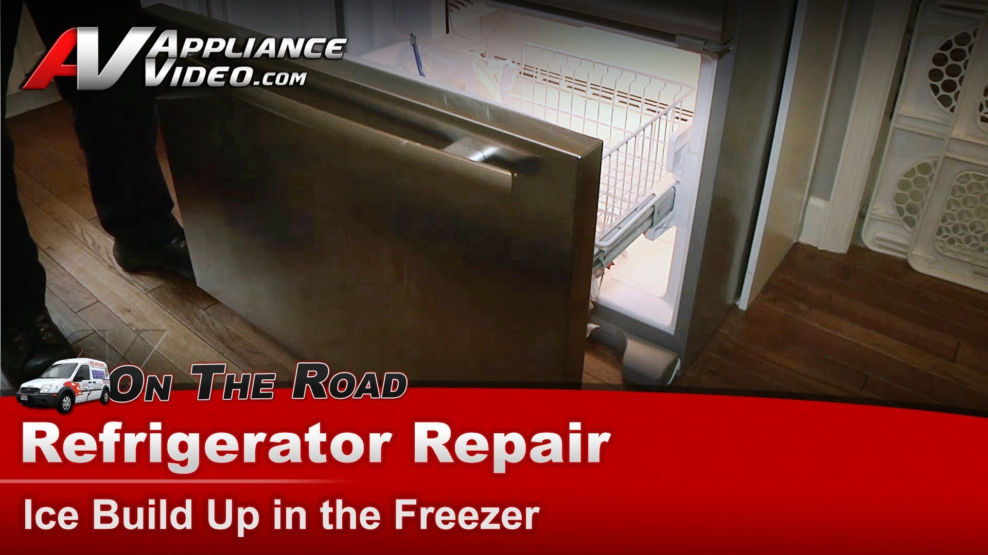 Refrigerator Repair Ice build up in the freezer JennAir