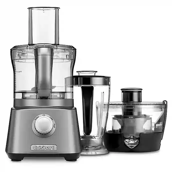 Cuisinart Kitchen Central 3 In1 With Blender Juicer And Food Processor In Gunmetal Food Processor Recipes Kitchen Blenders Blenders Juicers