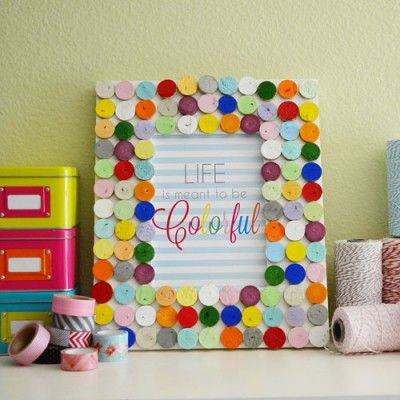 how to make a wine cork picture frame | Reuse, recycle | Pinterest ...