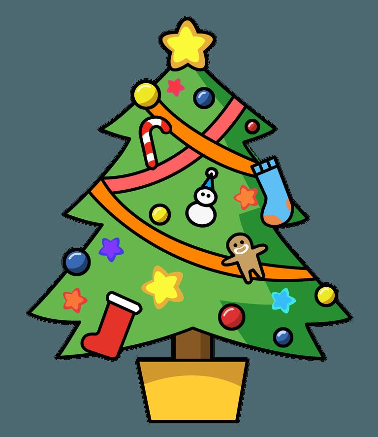 Christmas Tree Ukulele Christmas Tree Clipart Cartoon Christmas Tree Cartoon Trees