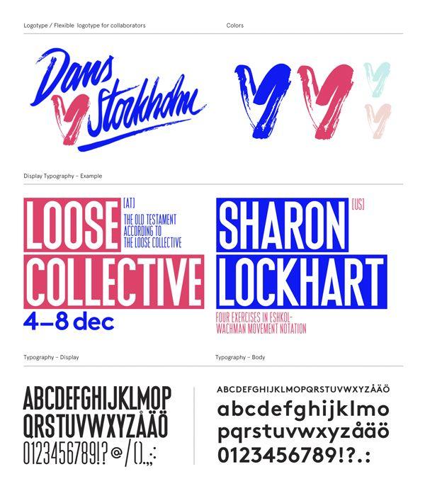 Dans ♥ Stockholm by Snask, via Behance