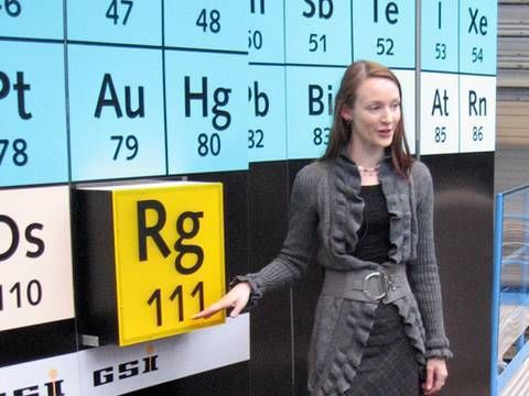Roentgenium periodic table of videos science pinterest roentgenium periodic table of videos urtaz Images