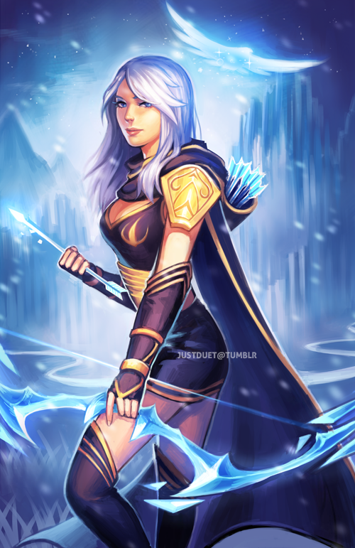 Ashe by justduet on DeviantArt