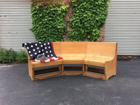Stupendous 1930S Bowling Alley Bench Large Maple Bowling Alley Bench Gmtry Best Dining Table And Chair Ideas Images Gmtryco
